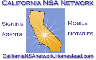 California Notary Signing Agents Network.